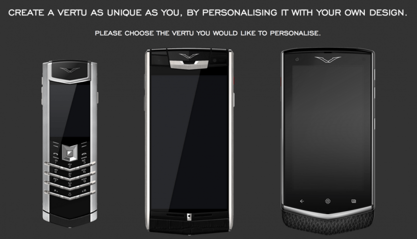 Here's Your Chance to Design Your Own Vertu Monogram Constellation