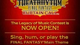 GearDiary Theatrhythm Curtain Call Contest Celebrates Final Fantasy Music