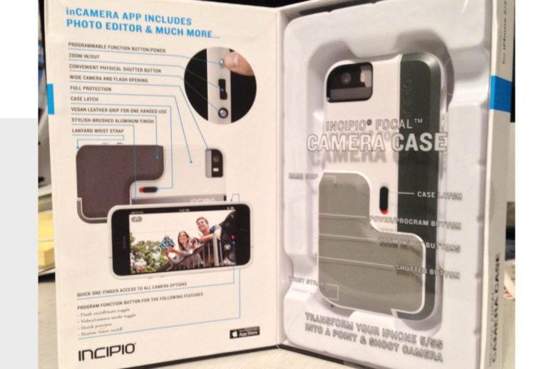 GearDiary Incipio Focal Camera Case Turns iPhone into Point and Shoot