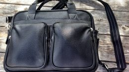 GearDiary The Mobile Edge Tech Briefcase Review: A Stylish & Slim Commuter