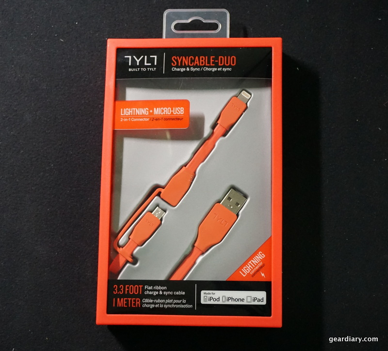 TYLT SYNCABLE-DUO