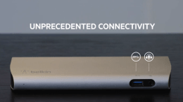 Belkin Thunderbolt 2 Express Dock HD Puts Your Laptop on Your Desktop