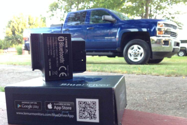 GearDiary Lemur Monitors BlueDriver Brings On-Board Diagnostics to the Masses