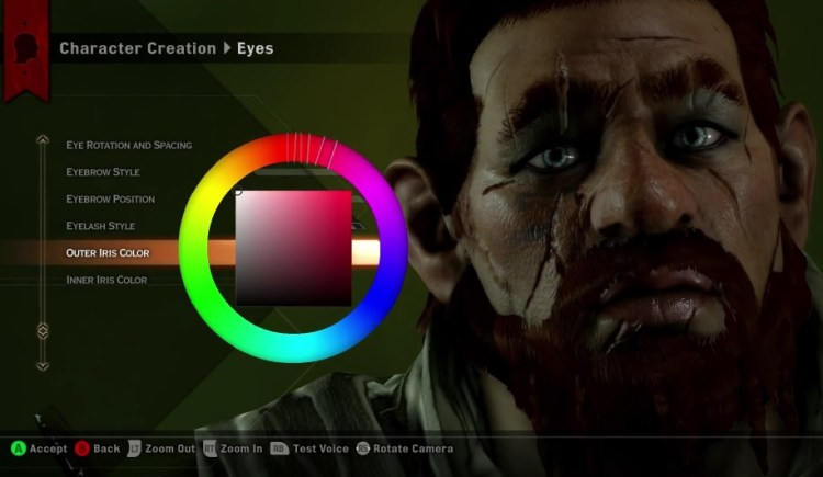 Dragon Age Inquisition's Unique Character Creation Tool