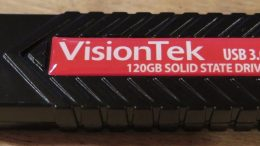 GearDiary VisionTek USB 3.0 120GB Solid State Drive Review: Portable Convenience