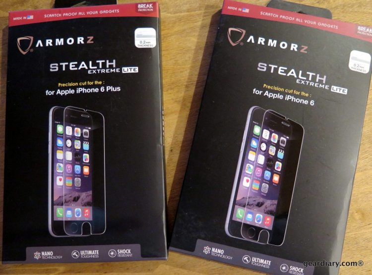 Gear Diary reviews the ARMORZ Stealth Extreme Light for iPhone 6 and 6 Plus