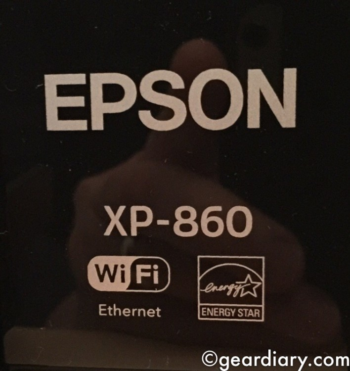 Epson Expression Photo XP-860 All-in-One Printer Is Small and Social