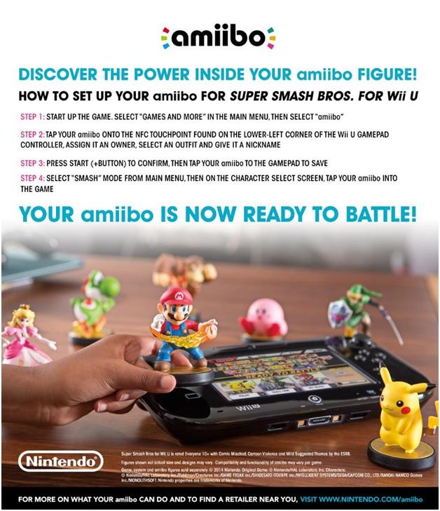 Nintendo Amiibo Character Update
