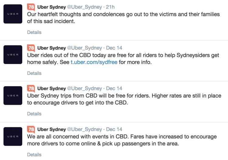 uber tweets