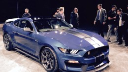 Ford Shelby GT350R Mustang Video from NAIAS
