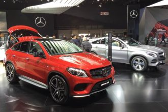 Mercedes-Benz GLE Coupe Debut
