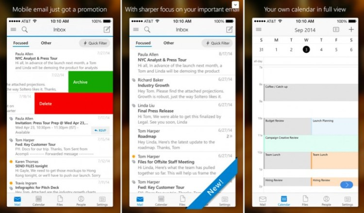 New Outlook App Brings Truly Universal Inbox to iOS and Android
