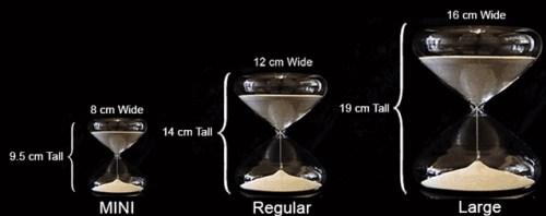 Esington Glass Makes Hourglass Timers into Productive Artwork