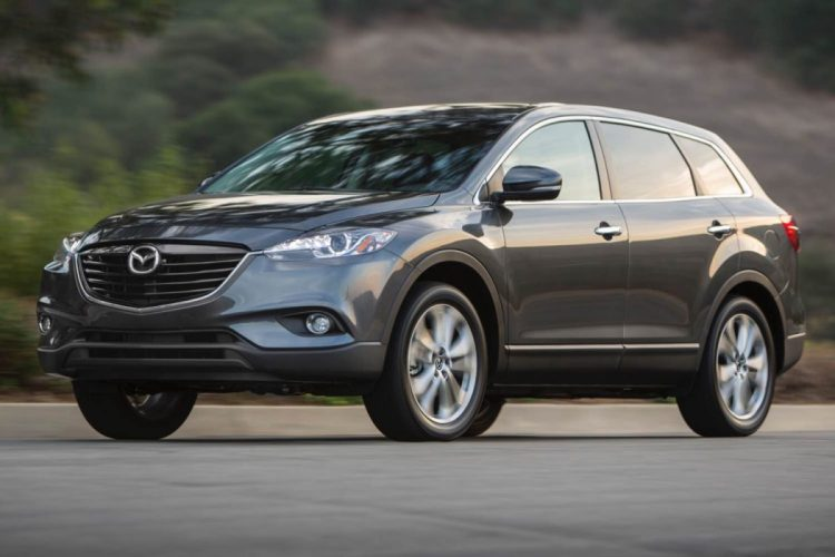 2015 Mazda CX-9/Images courtesy Mazda