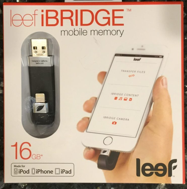 Leef iBRIDGE Review: Brings Well Designed External Storage to iOS Devices