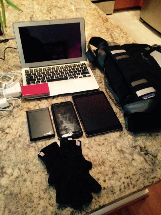 Everything I use regularly.