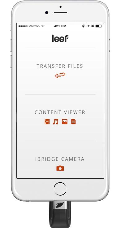 Leef iBridge App