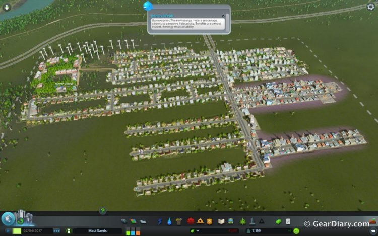 Overview of my second city.