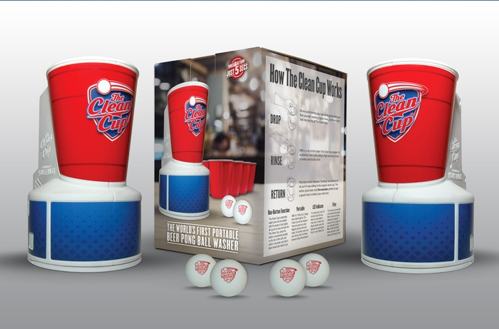 The Beer Pong Clean Up Cup Will Stop You from Having Dirty Balls