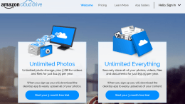 GearDiary Amazon Cloud Drive Goes Unlimited; Your Move, Dropbox