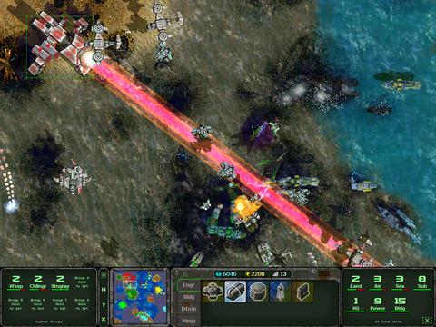 Land Air Sea Warfare SS1