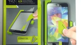 Apply Straight Protection to Your Galaxy S5 Screen with the TYLT ALIN
