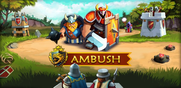 AMBUSH! The New Tower Defense Game Hits the App Store.