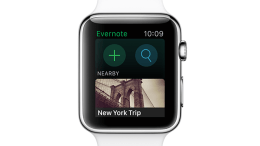 Evernote for Apple Watch Is Confirmed for Launch in April