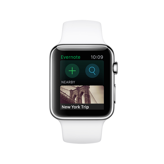 Evernote for Apple Watch