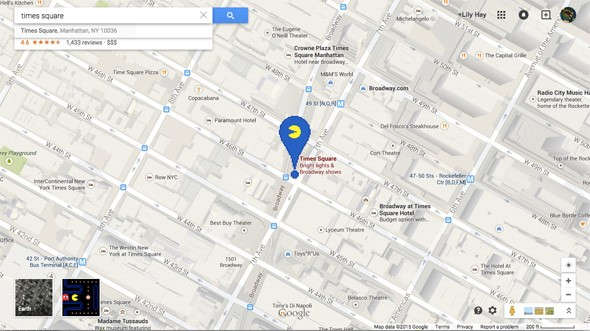 Google Maps Attempts to Bring Back 80's Nostalgia with PacMan