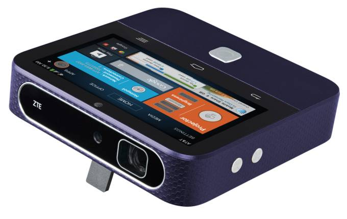 ZTE's Projector/Hotspot SPRO 2 Available From AT&T This Friday
