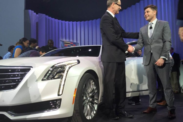 2016 Cadillac CT6 debut NYC/Images by Author