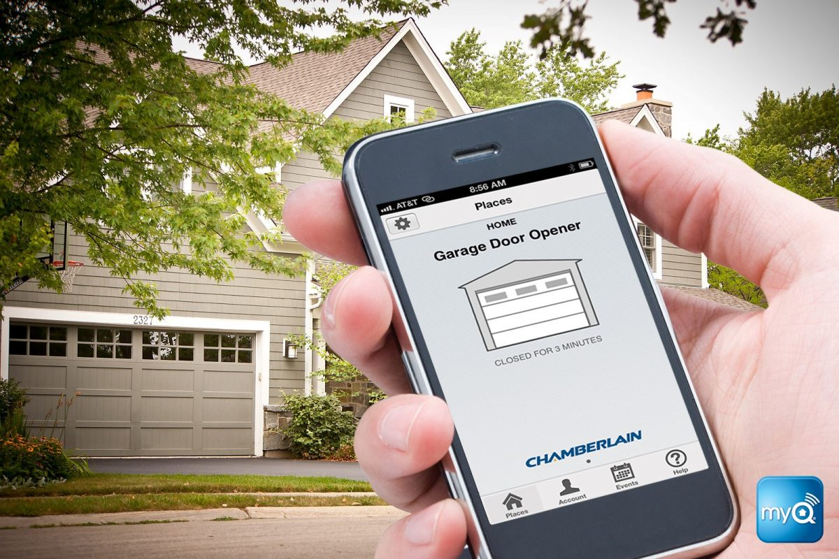 Open Your Garage Using Chamberlains Wifi Smartphone Garage Door