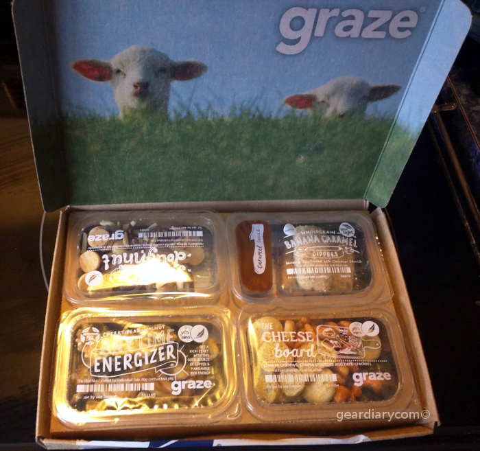 GearDiary Is Graze Worth the Price for Healthy Snacks?