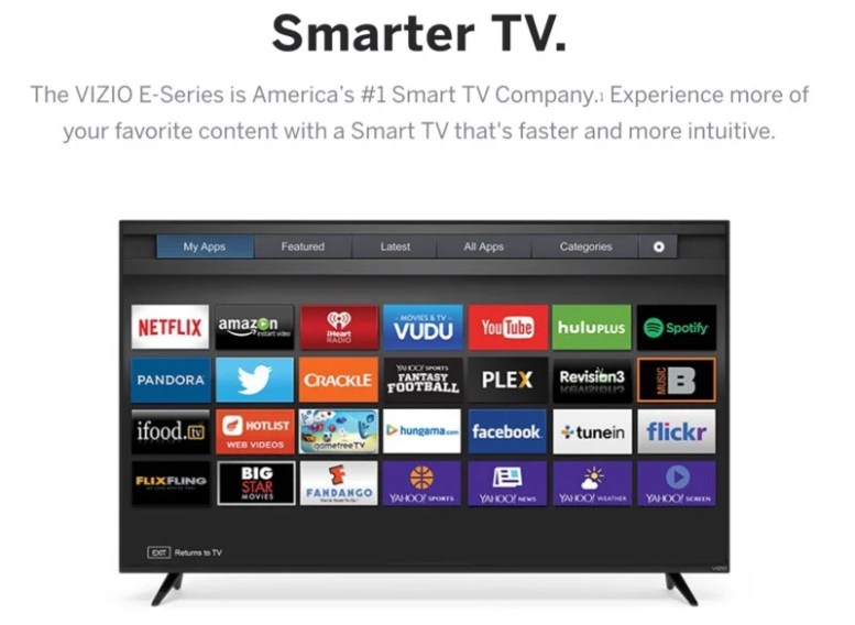 GearDiary VIZIO E-Series of Televisions Are Big on Smarts, Small on Price
