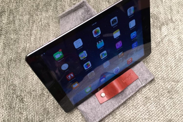 GearDiary Inateck Protection for iPad Air Has 'Something Up Its Sleeve'