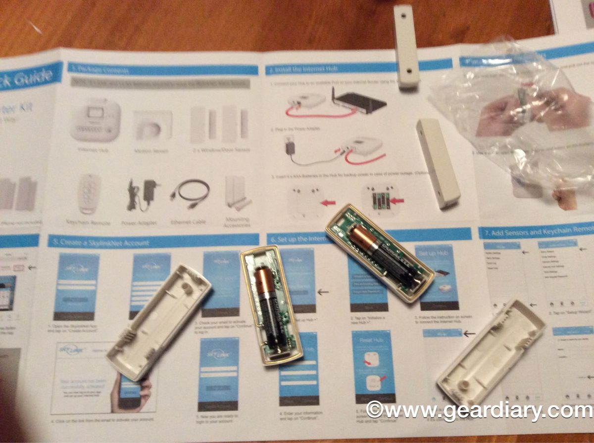Skylinknet Alarm System Review Home Security With No