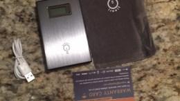 Intocircuit's 15000mAh Dual External Battery's LED Screen Sells Itself