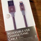 Griffin Reversible USB Charge Sync Cable: 5 Feet of Awesomeness