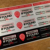 HomingPIN: Keep Honest People Honest by Identifying Your Gear