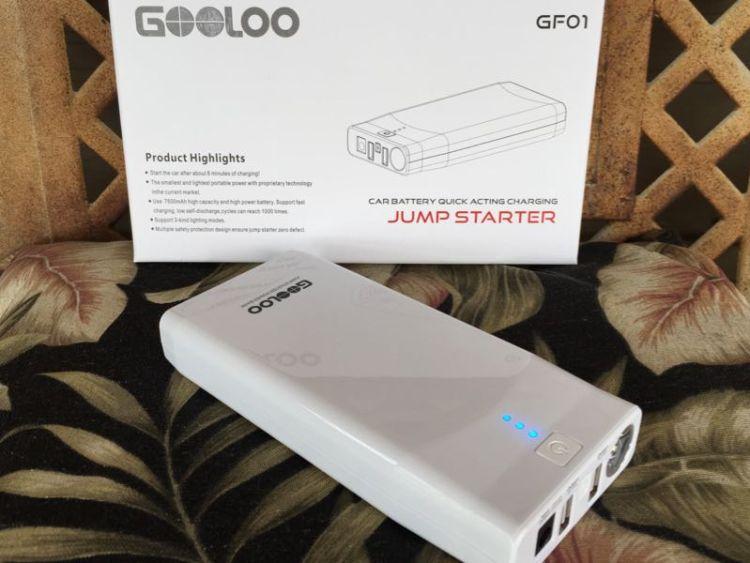Gooloo GF01 Jump Starter Power Bank/Images by David Goodspeed