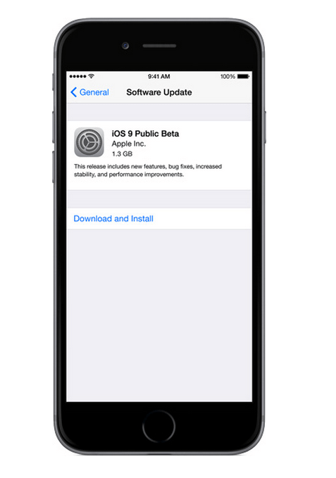 iOS 9 Public Beta Available Now