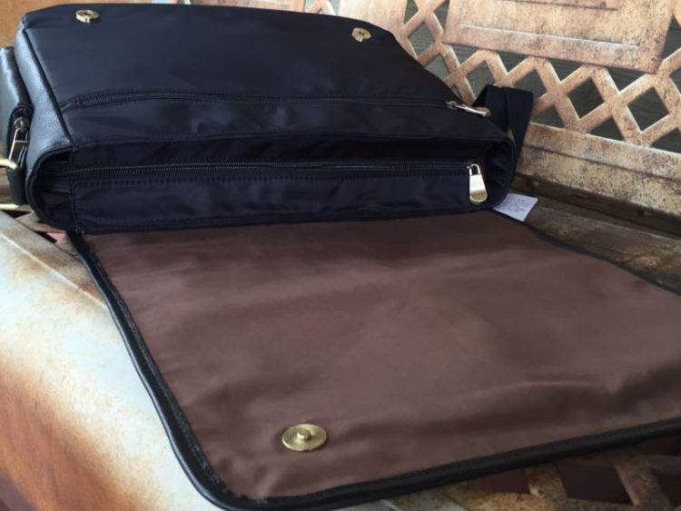 "Jill-e Designs Sasha 15"" Leather Laptop Bag is Fashionable Functionality"