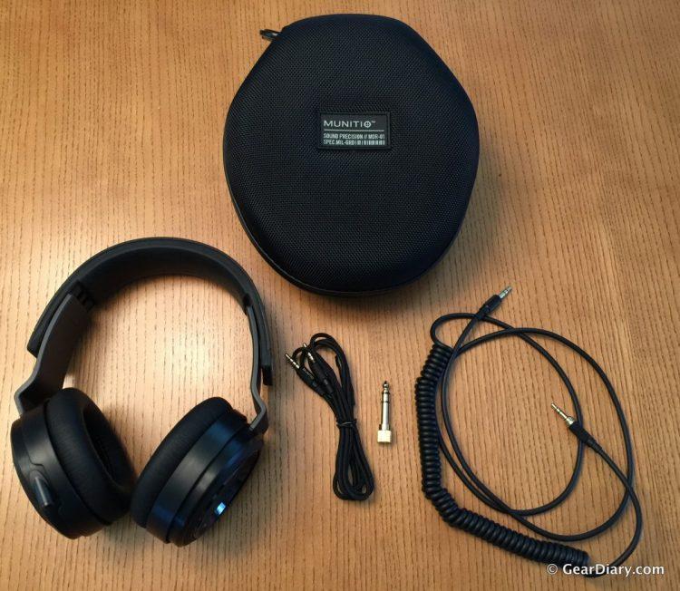GearDiary Munitio Pro40 Headphones are the Best Headphones I've Ever Used