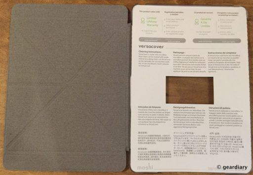 The Moshi iPad Air 2 VersaCover: Type, Read, & Watch with This Folding Case  The Moshi iPad Air 2 VersaCover: Type, Read, & Watch with This Folding Case  The Moshi iPad Air 2 VersaCover: Type, Read, & Watch with This Folding Case  The Moshi iPad Air 2 VersaCover: Type, Read, & Watch with This Folding Case
