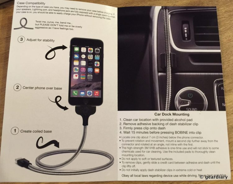 6-Gear Diary Reviews the Fuse Chicken BOBINE Dock.47