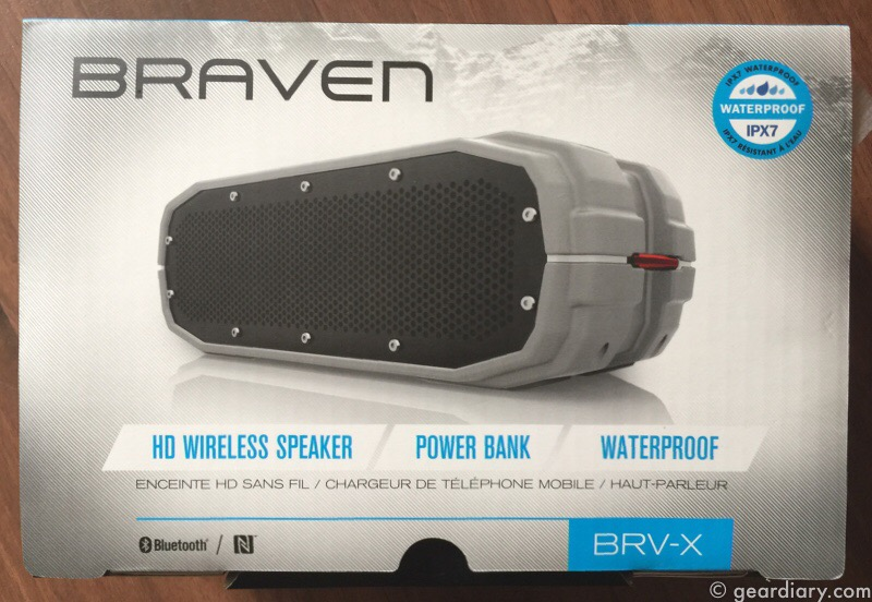 The Braven BRV-X Serves Up Music Outside and In