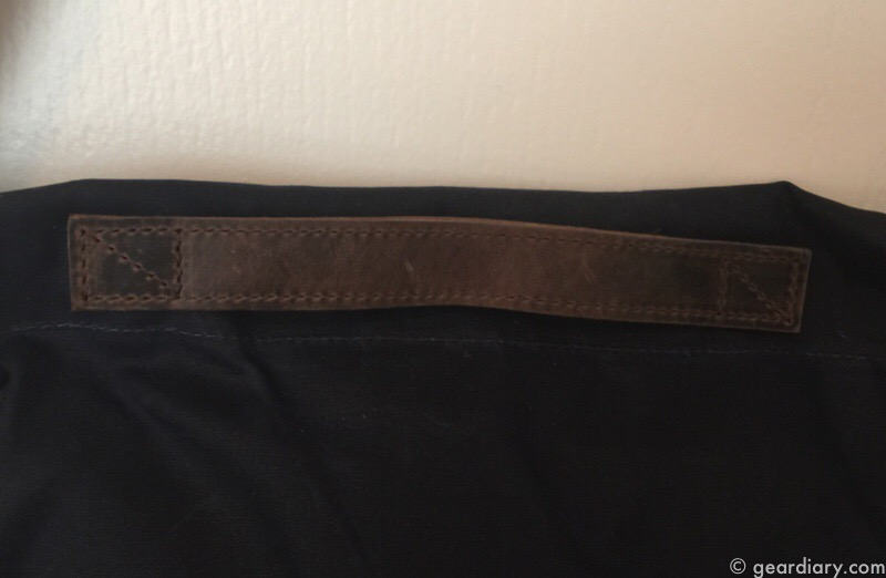 Waterfield Design Vitesse Waxed Canvas Messenger Bag Review