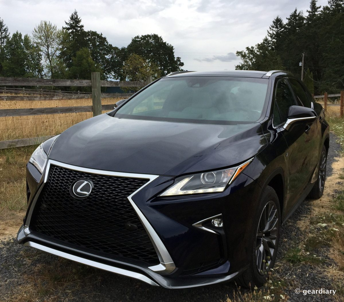 the 2016 lexus rx 350 f sport first drive geardiary. Black Bedroom Furniture Sets. Home Design Ideas