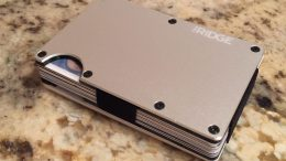 The Ridge Wallet Makes Carrying Your Cards Safe And Light!